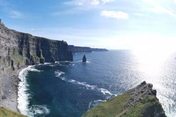 falaises de moher irlande surf trip